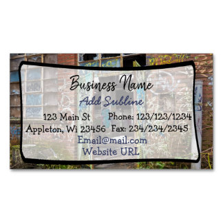 Street Art Business Information Magnetic Card