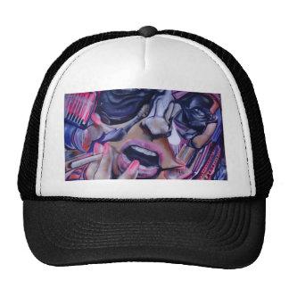 Street Art Face Trucker Hat
