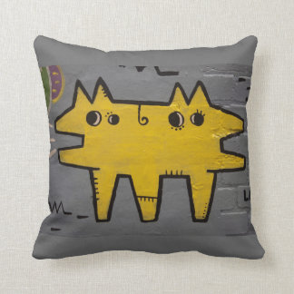 Street art / grafitti throw pillow