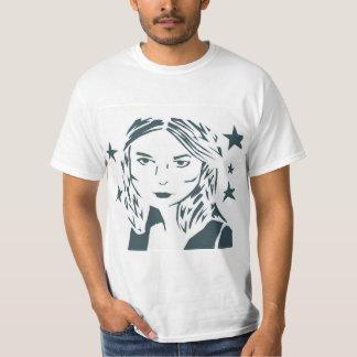 Street Art Woman Shirt