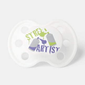 Street Artist Baby Pacifiers