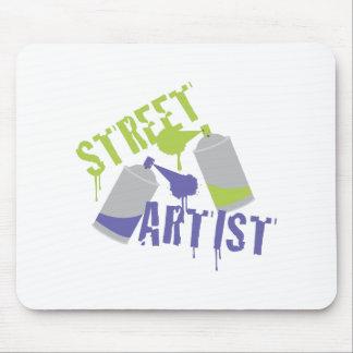 Street Artist Mouse Pad