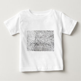 Street asphalt cracks texture baby T-Shirt