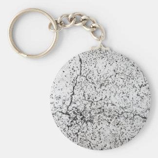 Street asphalt cracks texture key ring