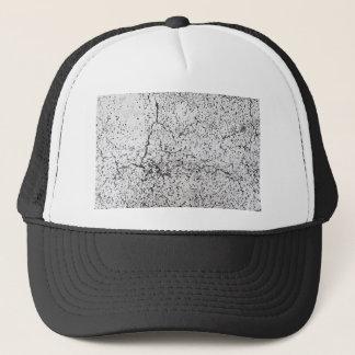 Street asphalt cracks texture trucker hat