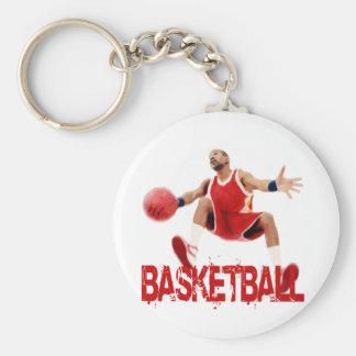 Street Basketball Dribble Key Chains
