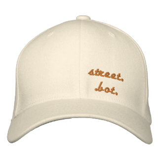 street..bot, by gear,s-line. embroidered hat