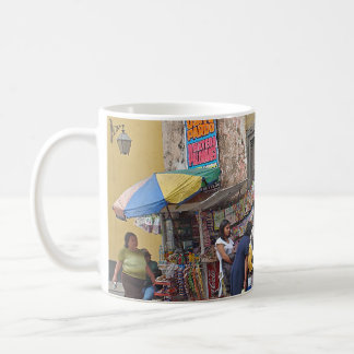 Street Corner in Peru Coffee Mug