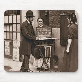 Street Doctor 1876-77 woodburytype Mousepads