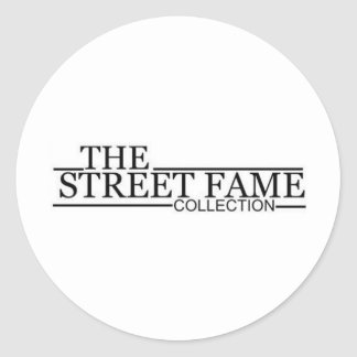 Street Fame Logo items Stickers