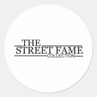 Street Fame Logo items Round Sticker