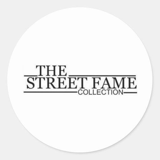 Street Fame Logo items Stickers