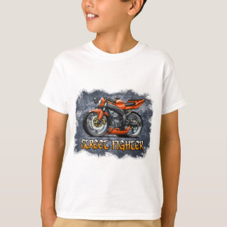 Street_Fighter_Orange T-Shirt