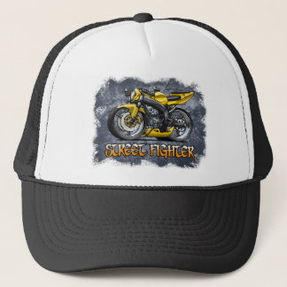 Street_Fighter_Yellow Trucker Hat