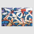 Street Graffiti Art Rectangular Sticker