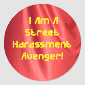Street Harassment Avenger Sticker