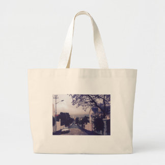 Street in Cape Town Large Tote Bag