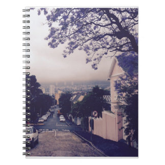 Street in Cape Town Notebooks