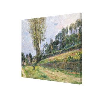 Street in Rouen Canvas Print
