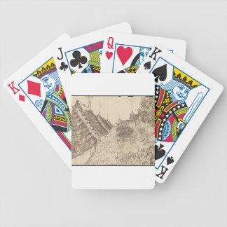 Street in Saintes-Maries-de-la-Mer Bicycle Playing Cards