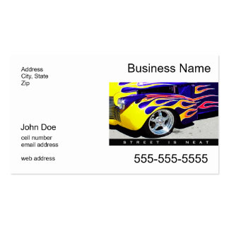 Street Is Neat Business Card