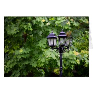 Street lamp card