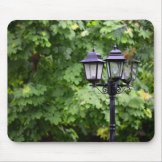Street lamp mouse pad