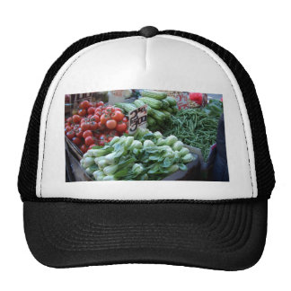 Street Market Fresh Vegetables CricketDiane Mesh Hat