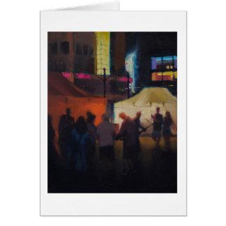 """Street Music"" Card"