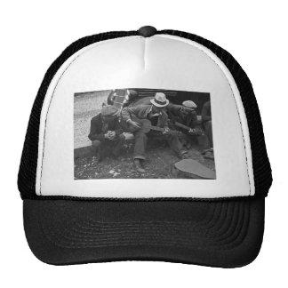 Street musicians, Maynardville, Tennessee, 1935 Mesh Hats