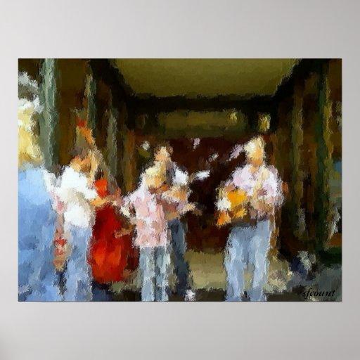 Street Musicians Print