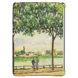 Street of Spanish Chestnut Trees by the River, 187 Cover For iPad Air