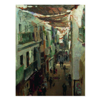 Street of the Snakes in Seville by Ilya Repin Postcard