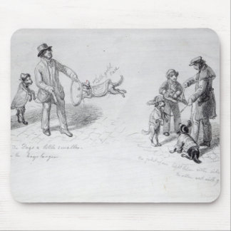 Street Performers, c.1839-43 Mouse Pad