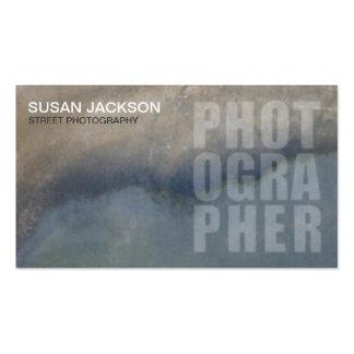 Street Photographer Business Card