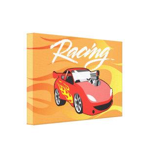 Street racing canvas print