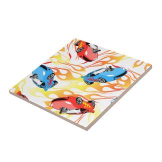 Street racing tile