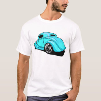 Street Rod Cyan T-Shirt