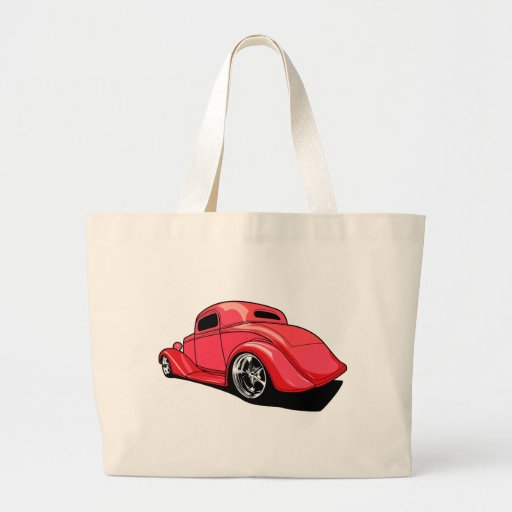 Street Rod Red Canvas Bags