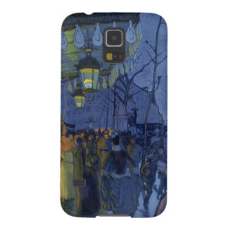 Street Scene, at Five in the Afternoon, 1887 Cases For Galaxy S5