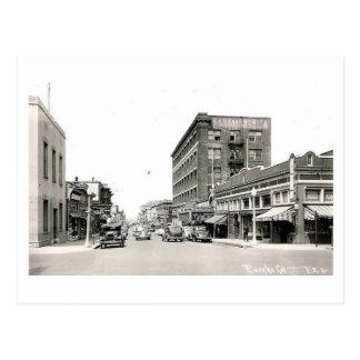 Street Scene, Eureka, California Vintage Postcard