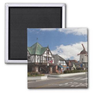 Street Scene from historic Solvang, 'The Danish Magnet