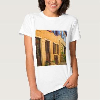 Street scene in France. Shirt