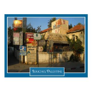 Street Scene in Jericho, Palestine Postcard