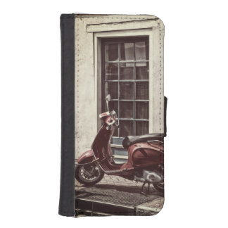Street scene iPhone SE/5/5s wallet case