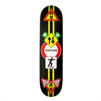 STREET SIGN NAME Skateboard