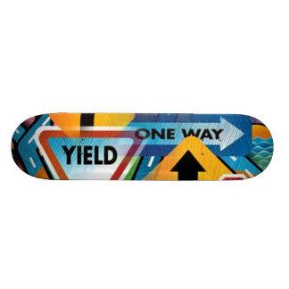 Street Signs #1 Skateboard