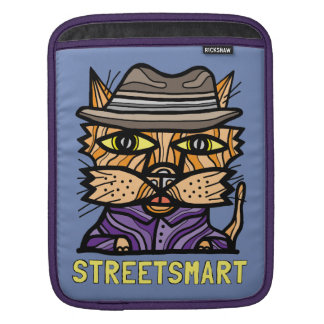 """Street Smart"" iPad, iPad Mini, MacBook Air Sleeve"