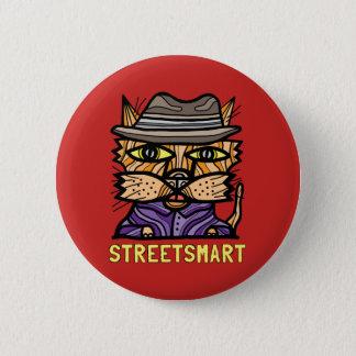 """""""Street Smart"""" Round Button"""