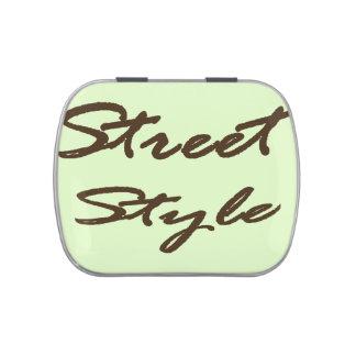 Street Style Candy Tin